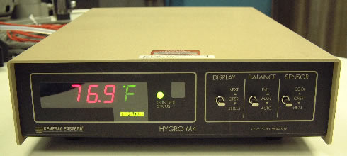 Chilled Mirror Hygrometer Calibration Using The Model 2500